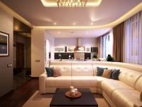 Дизайн квартиры 70 кв. м. Двух и трехкомнатные апартаменты