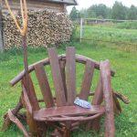 самодельное кресло из дерева