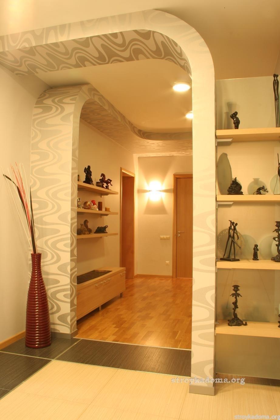 Интерьер прихожей в квартире - 70 фото-идей