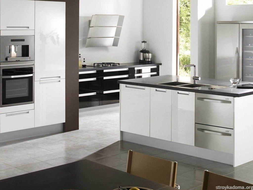 Кухня в стиле 21 века