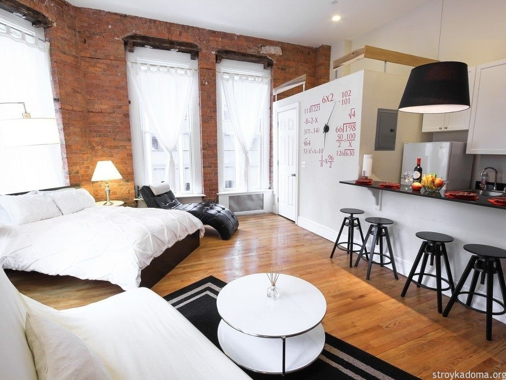 Дизайн однокомнатной квартиры 30 квадратных метров