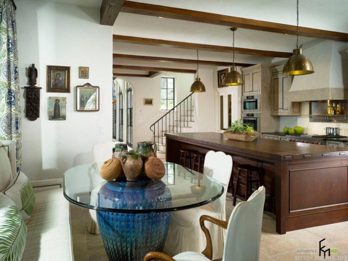 Стеклянные столы - фото выбор столешниц из стекла