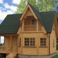 Как строить дом из бруса