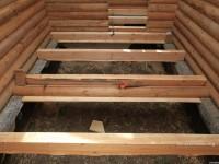 Пол в деревянном доме — подробный обзор