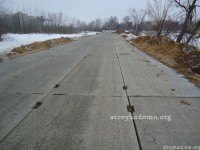 Технология укладки дорожных плит