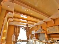 Какой потолок сделать на кухне — выбор лучшего