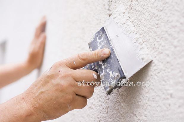 подготовка стен к шпаклевке