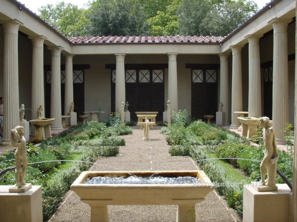 богатые дома древнего рима