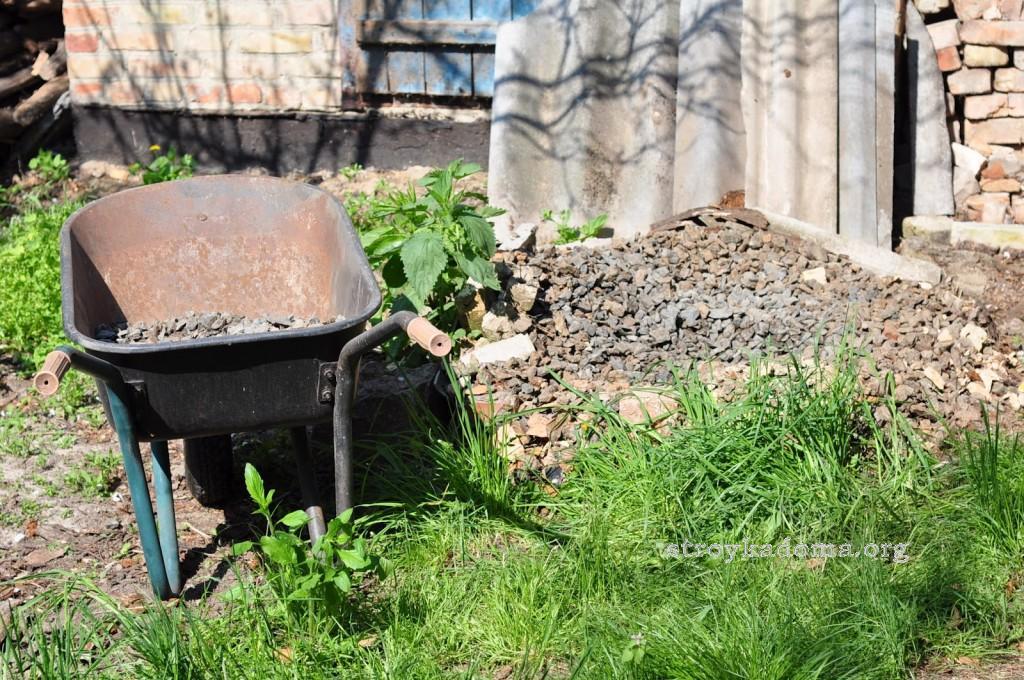 подготовка участка под забор