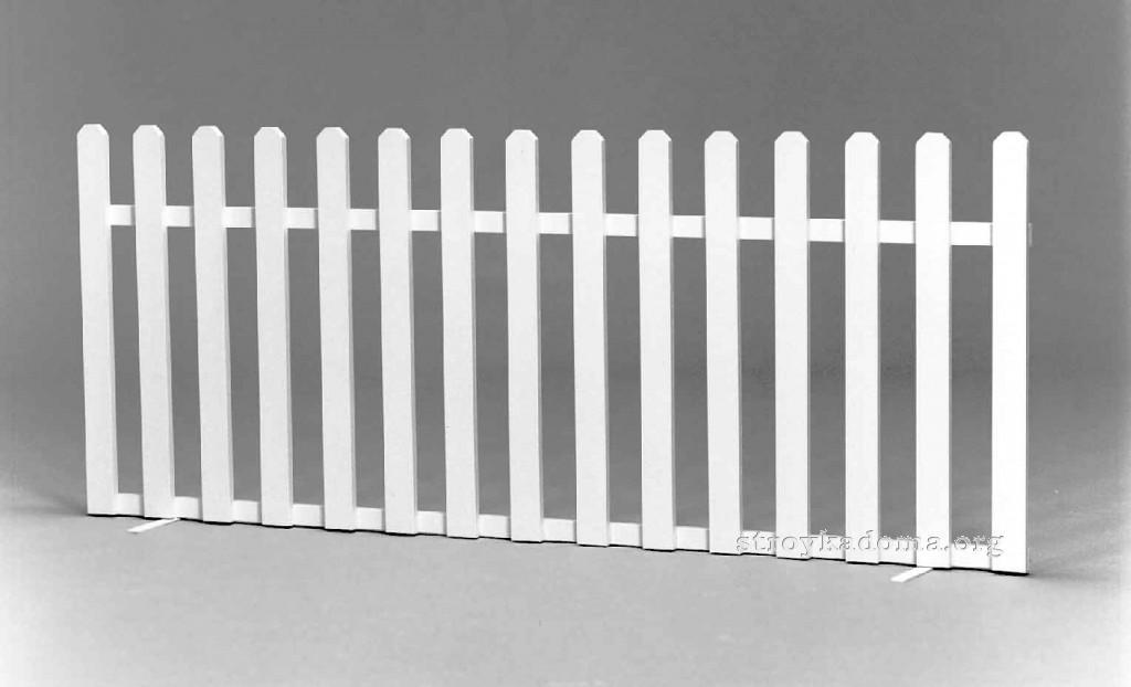 штахетный забор своими руками