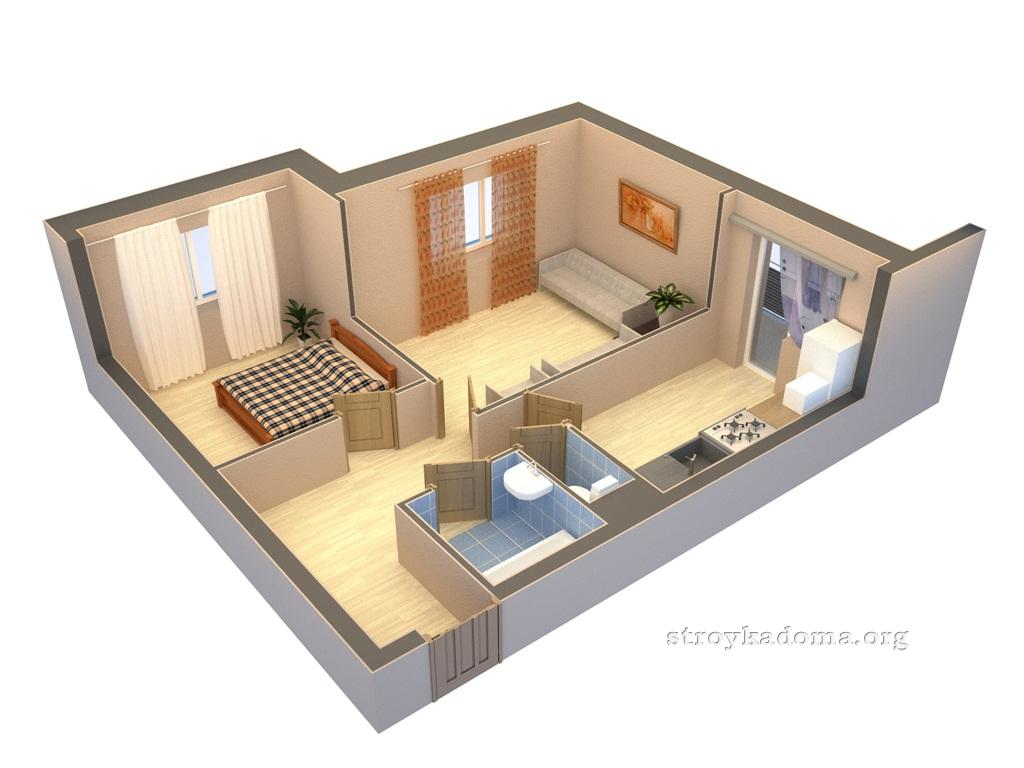 for Long apartment design