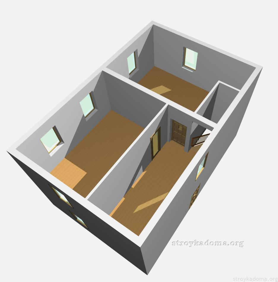 какую толщину должна иметь стена дома