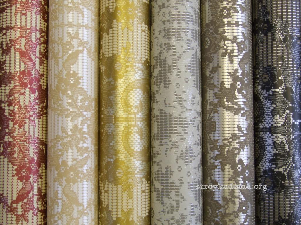 как поклеить текстильные обои