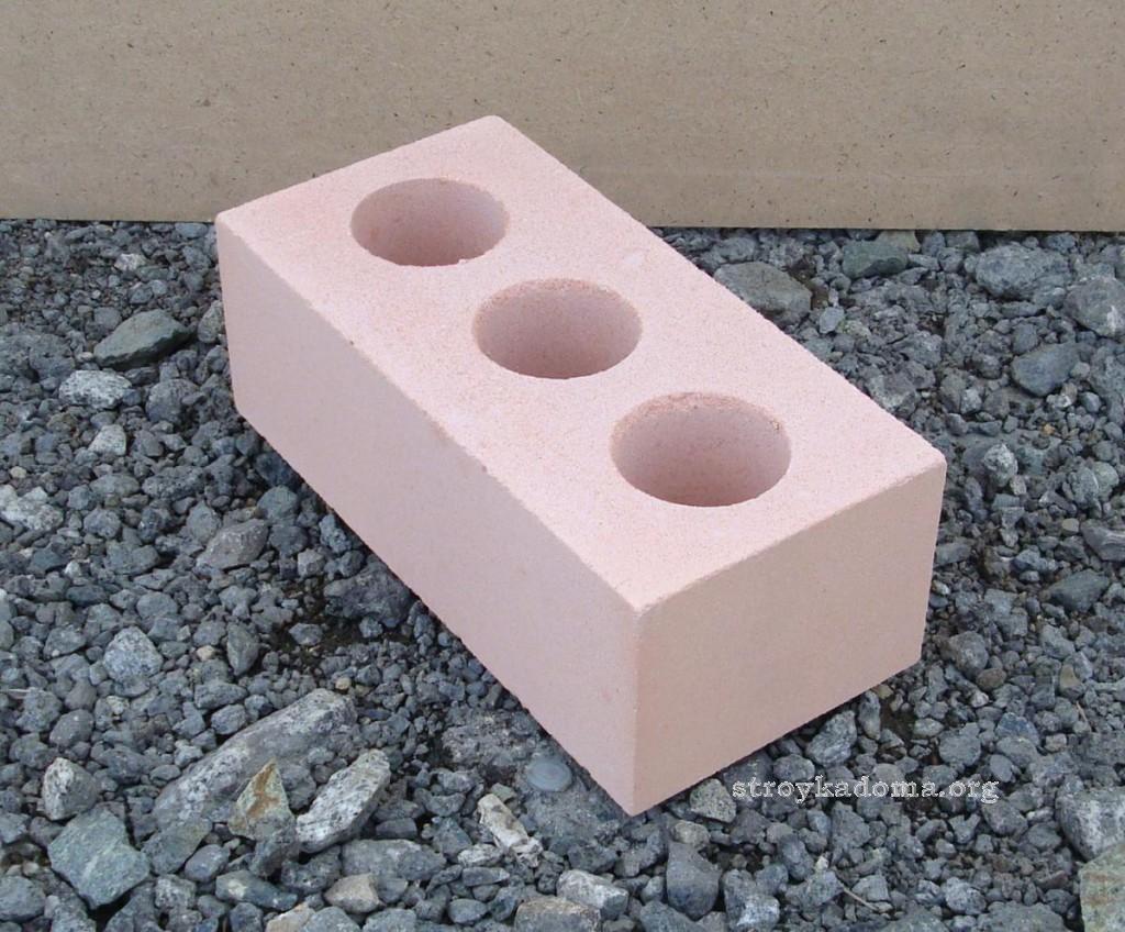 кирпичная стена из силикатного кирпича