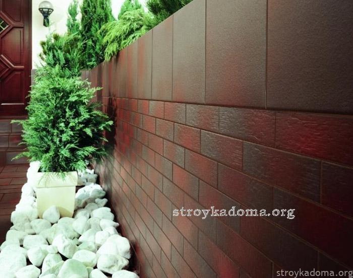 обшивка стен керамической плиткой