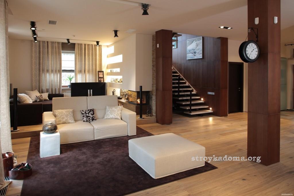 Гостиная современный стиль дизайна