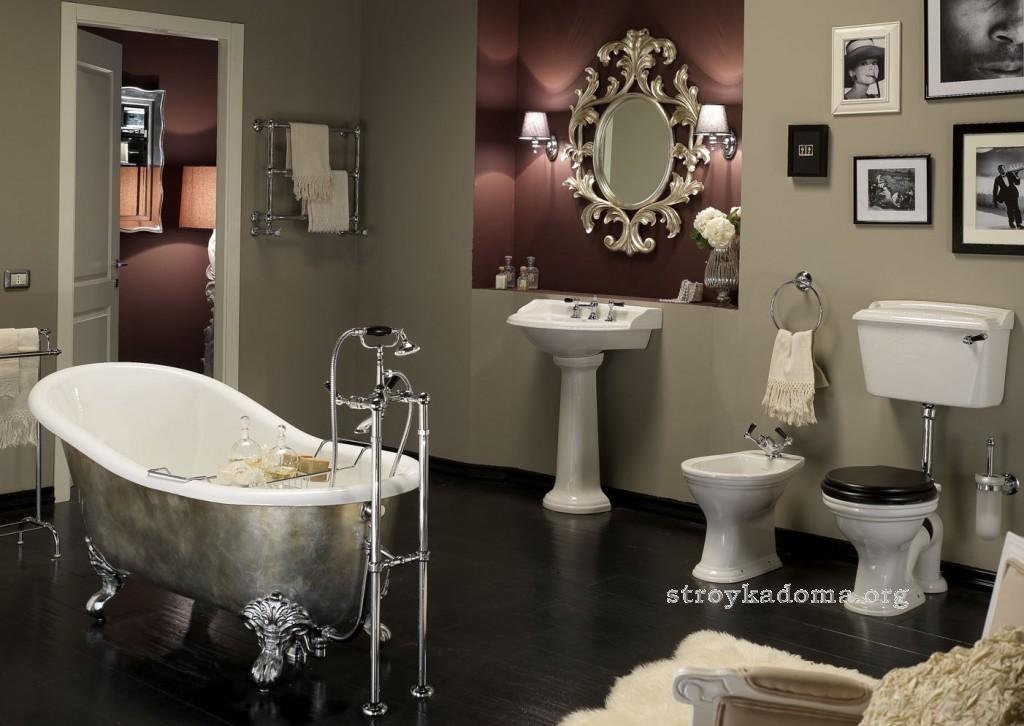 ванная дизайн классика
