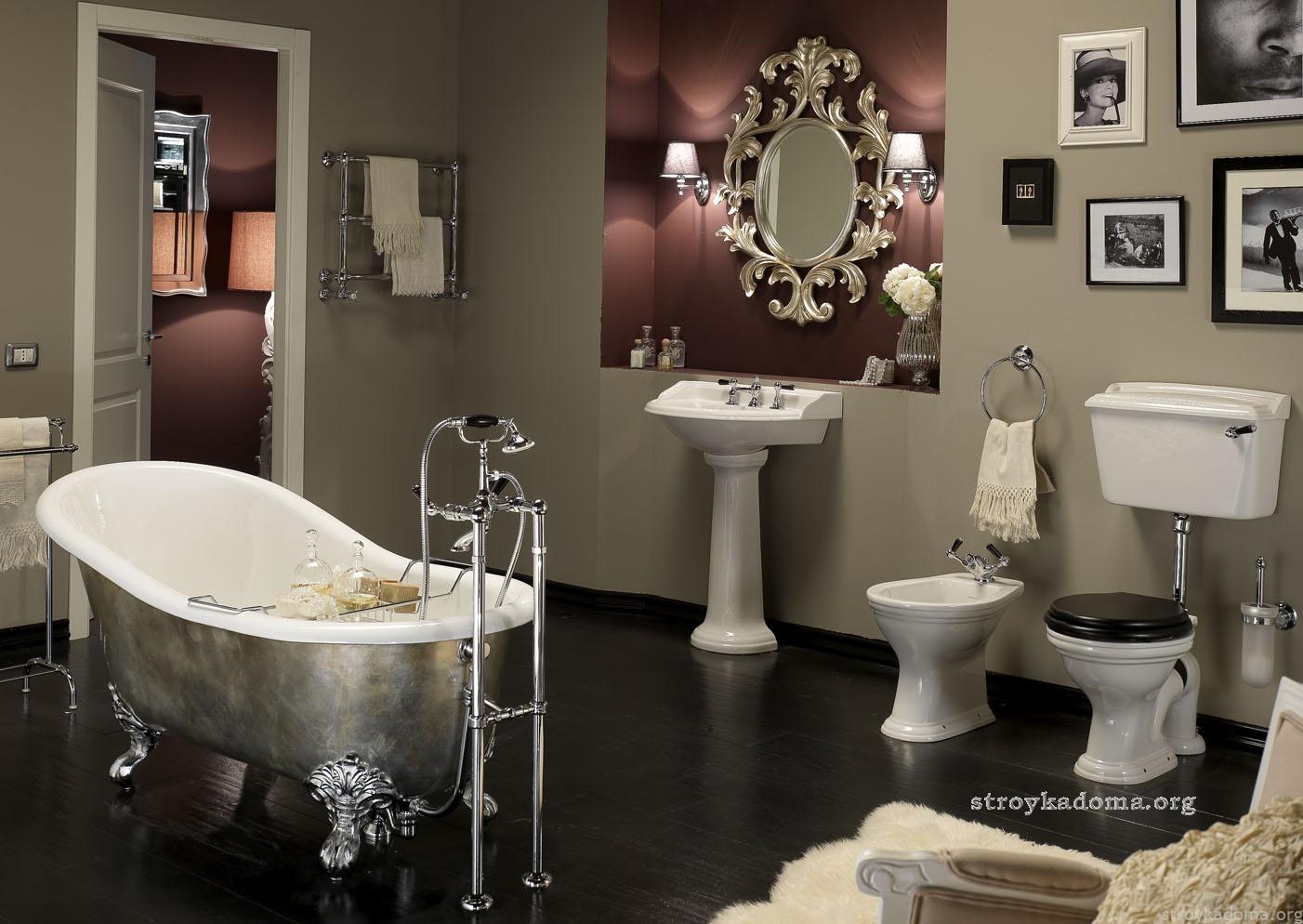 Современный дизайн ванной комнаты: актуальные веяния Современный дизайн ванной без плитки фото