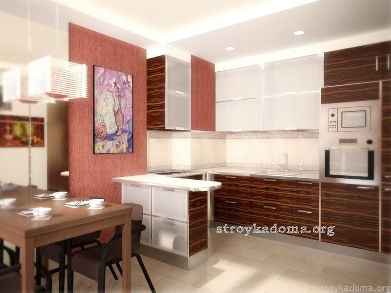восточный стиль дизайна кухни