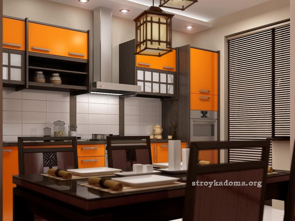 восточный стиль кухни фото