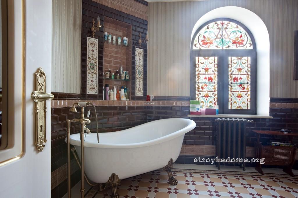 дизайн ванной классический стиль