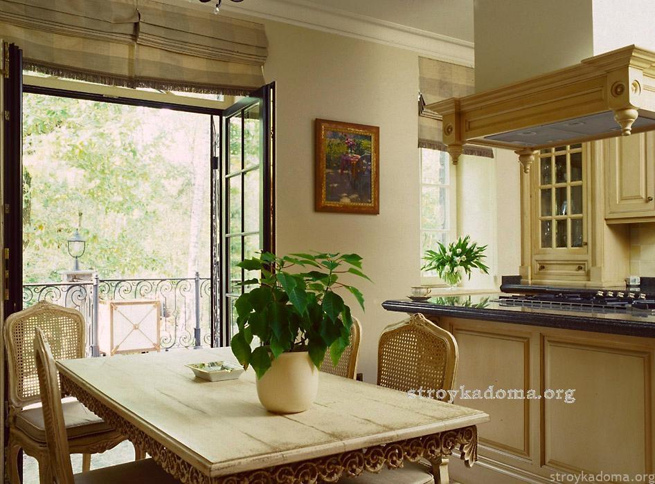 дизайн классика кухни фото