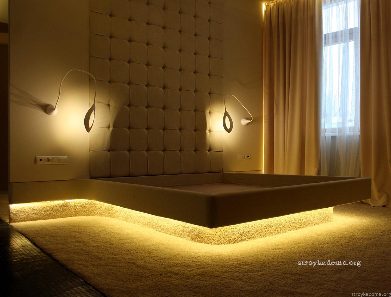 интерьер спальни стили варианты дизайна на фото