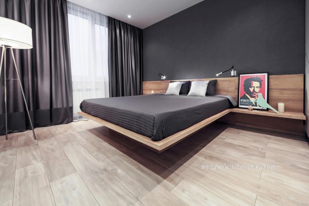 интерьер маленькой спальни 2