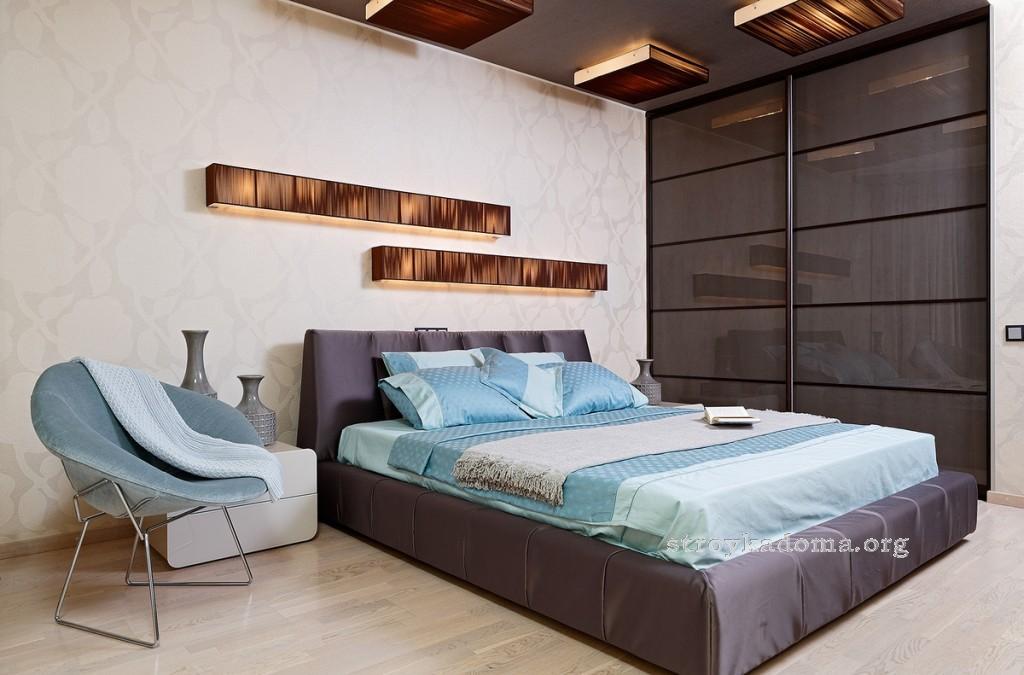 интерьер маленькой спальни 3