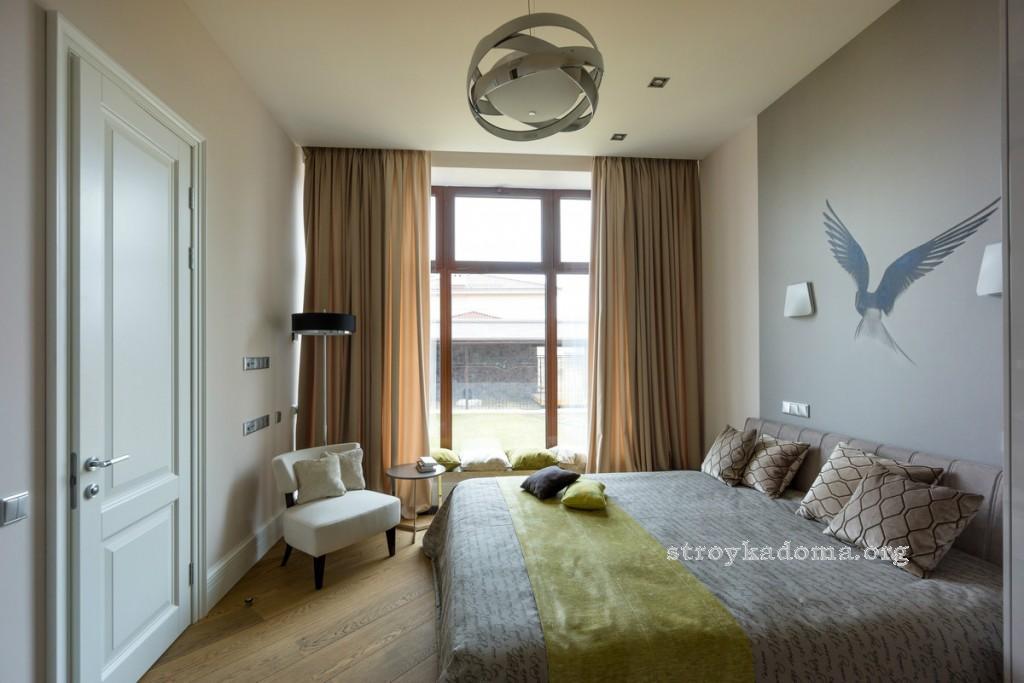 интерьер маленькой спальни 5