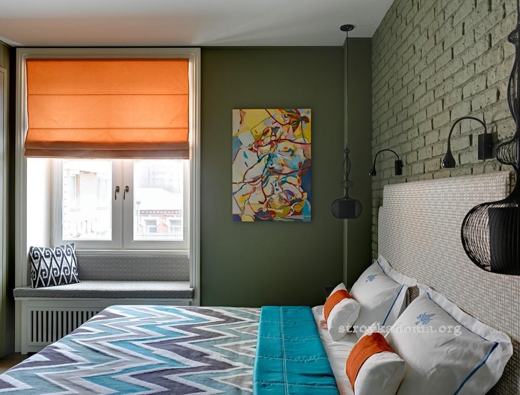 интерьер маленькой спальни 6