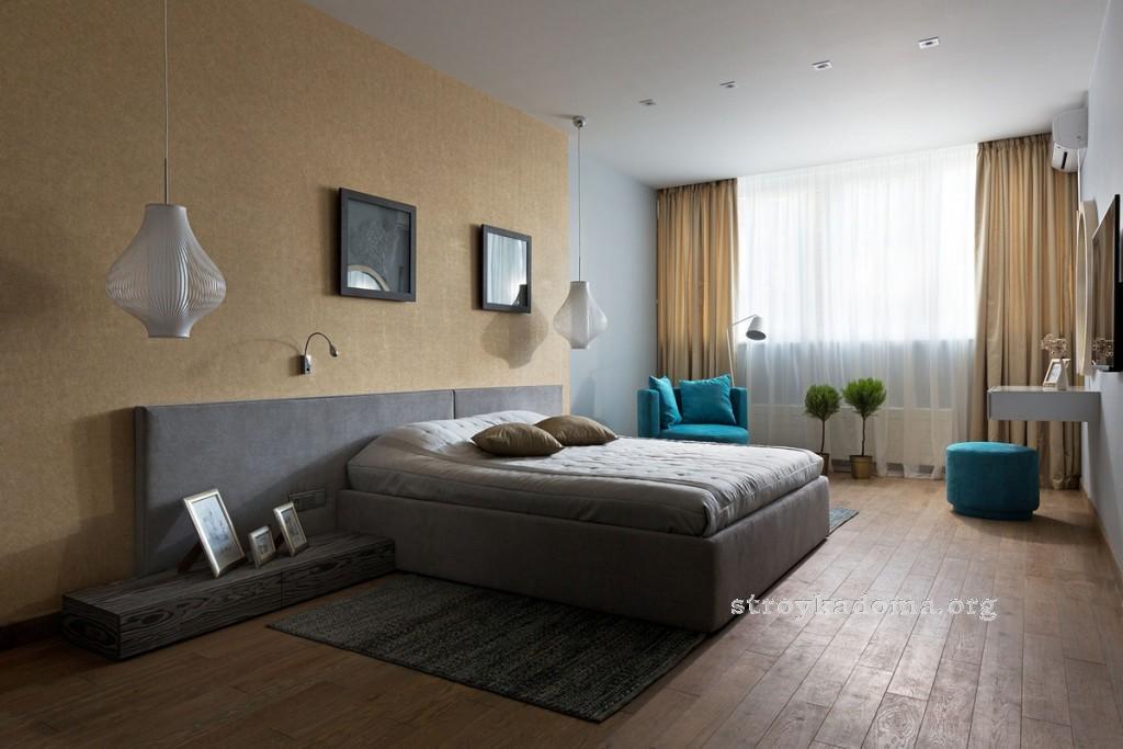 интерьер спальни 10