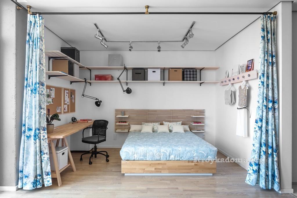 интерьер спальни 14