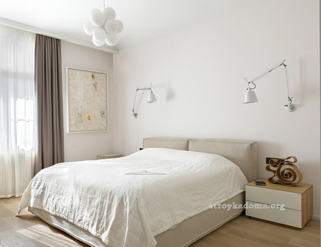 интерьер спальни 15