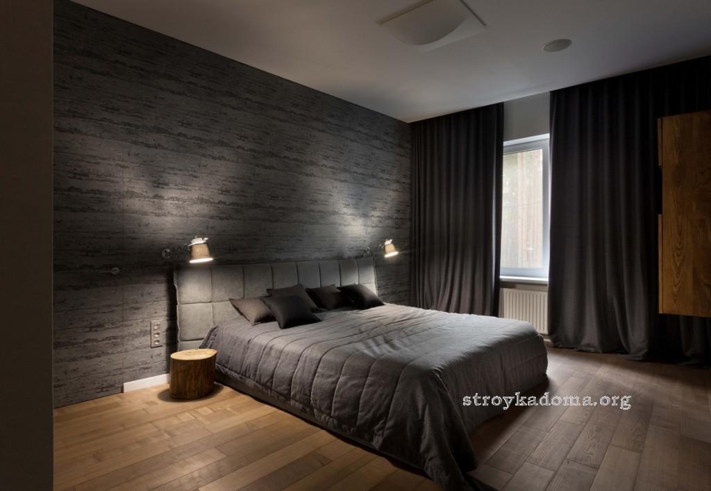 интерьер спальни 16