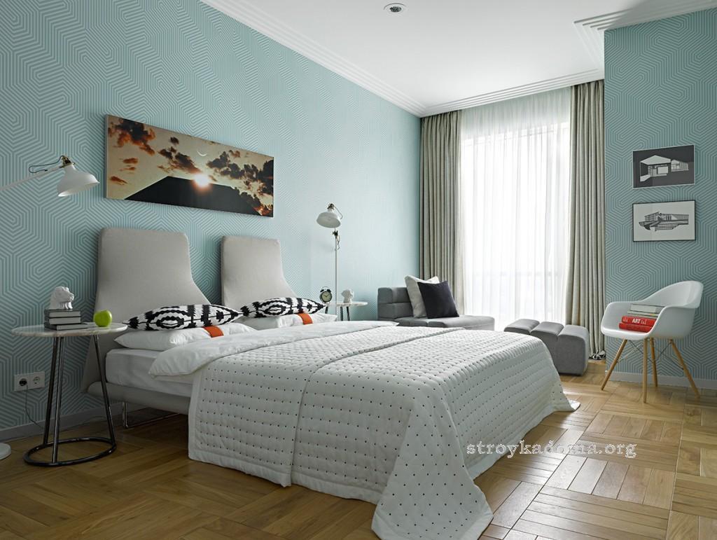 интерьер спальни 18