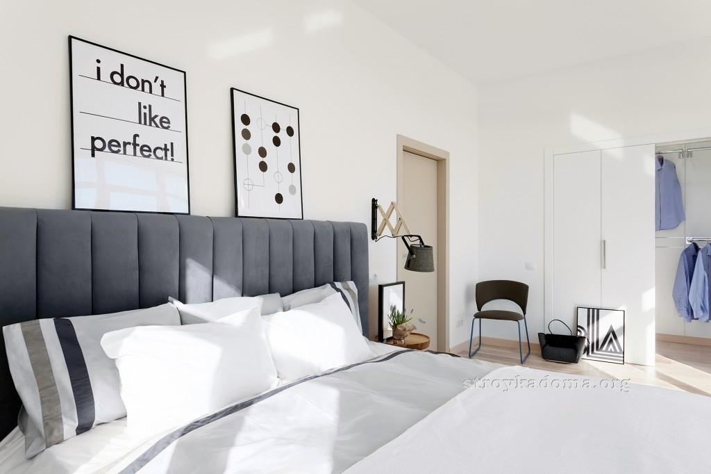интерьер спальни 5