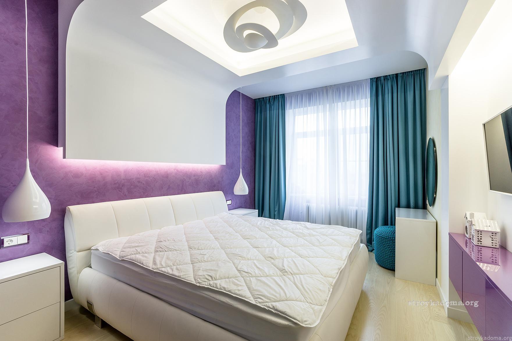Варианты интерьера гостиной и спальни