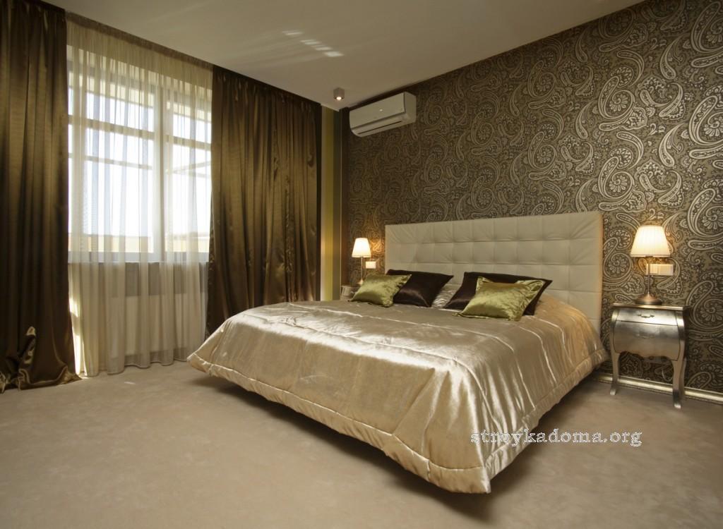 интерьер спальни 8