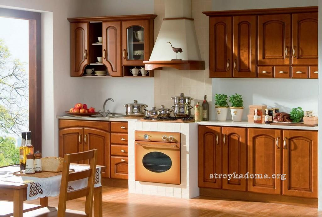 комфортная и уютная кухня