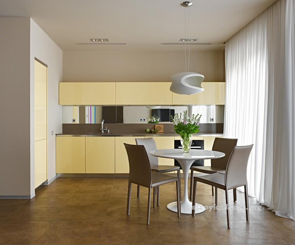 красивая современная кухня фото