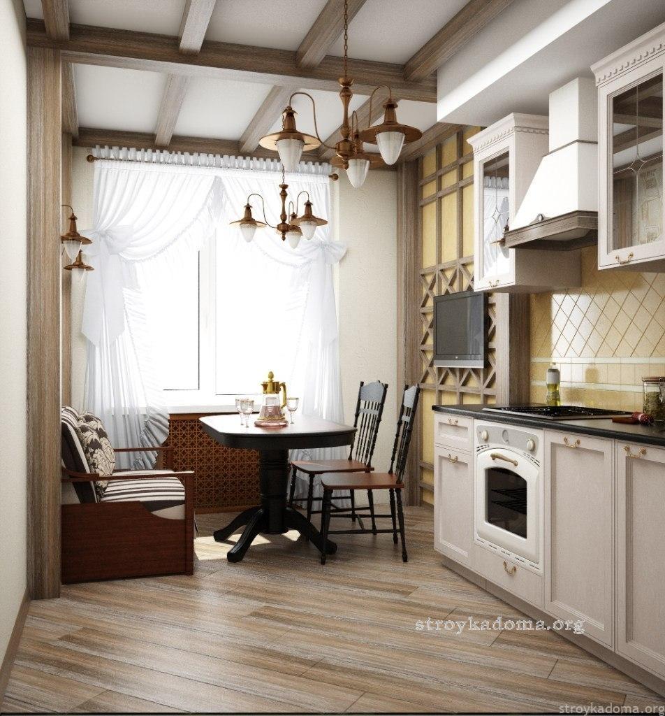 Интерьер кухни - 100 фото лучшего дизайна, обзор нестандартн.