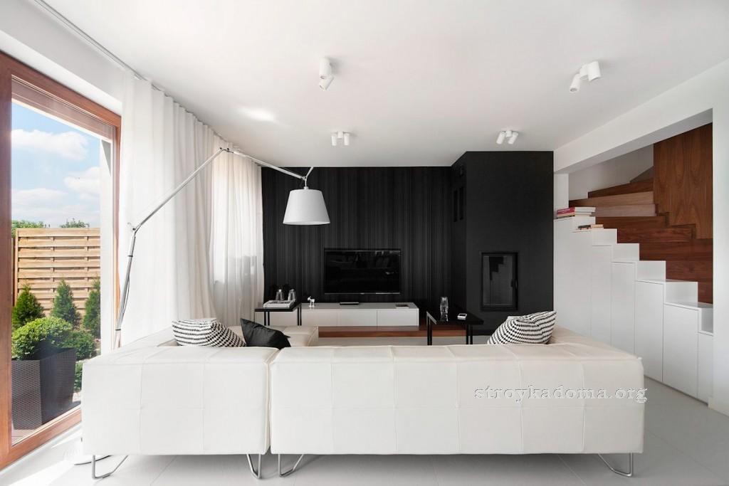 минимализм стиль гостиной