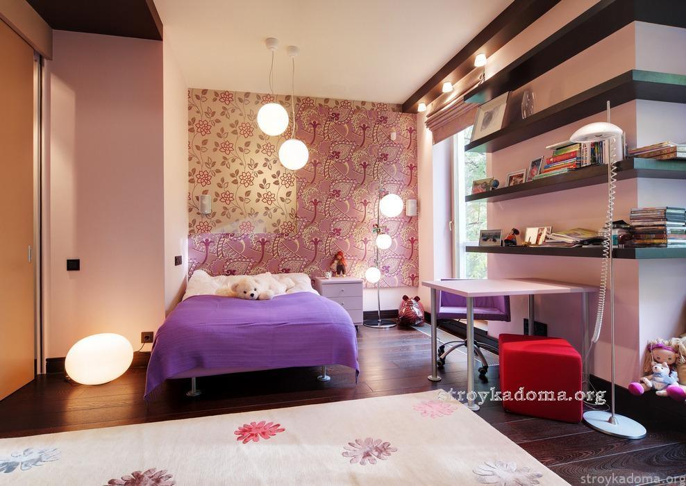комната для ребенка девочки интерьер