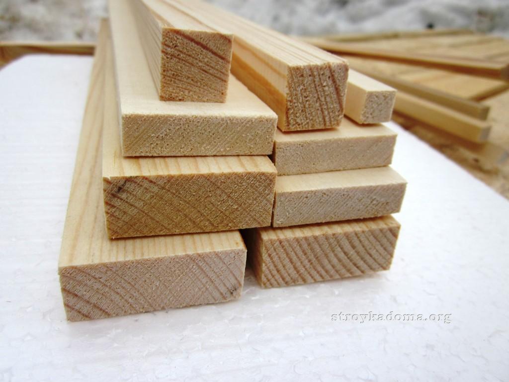 брус для изготовления стула