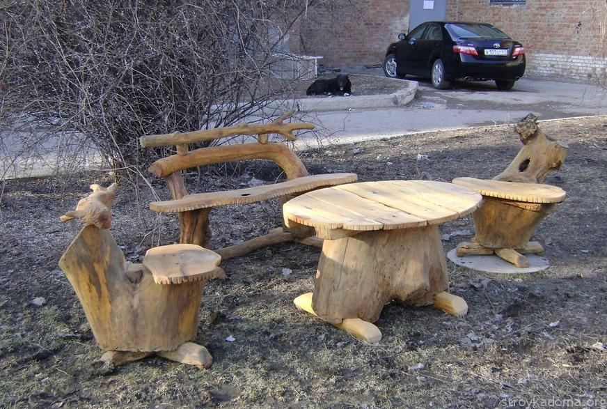 Стулья из дерева своими руками для сада фото 939