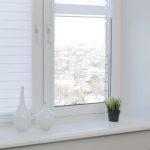 Рулонные шторы на кухню интересного фасона