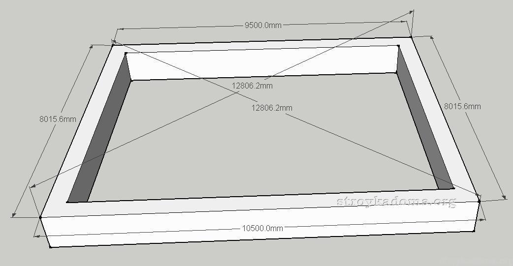 На фото представлена схема с правильно указными диагоналями.