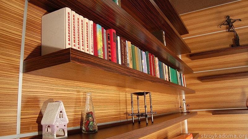 Собрать полку своими руками для книг