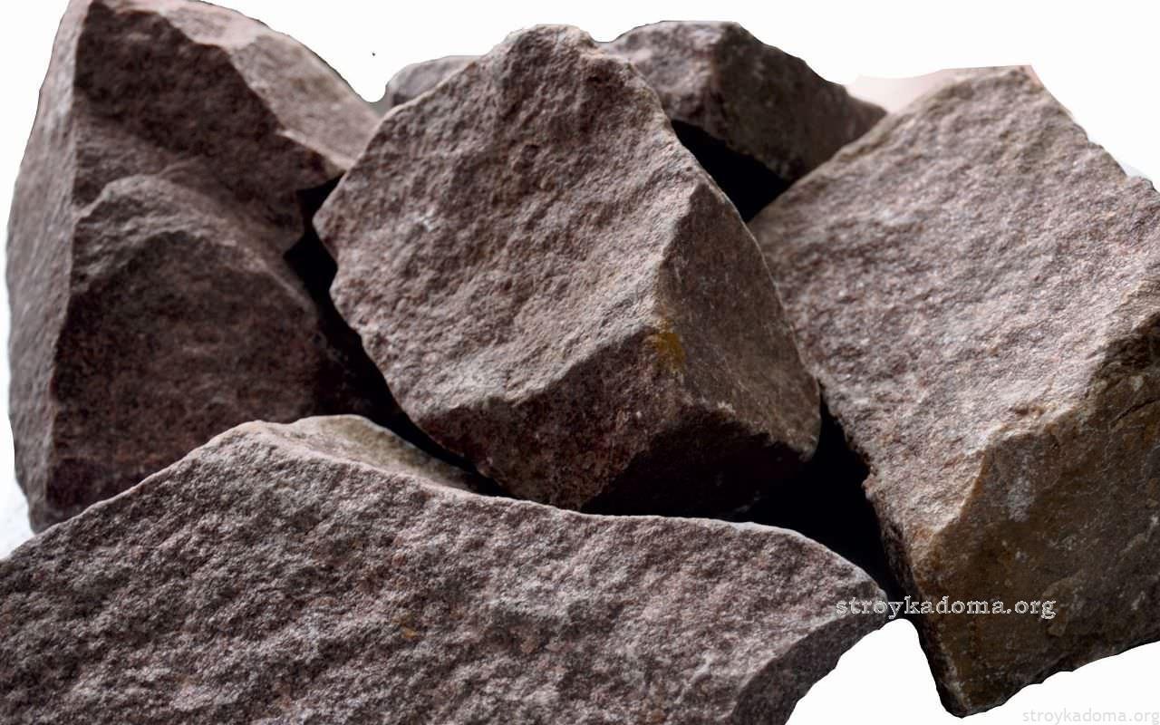 Габбро-диабаз - камни для сауны
